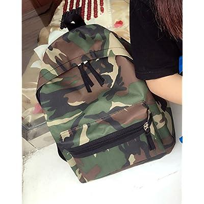 0872b001b52d 30%OFF Camouflage Backpacks, Foutou Women Girls Boys Print Zipper ...