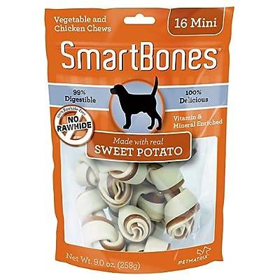SmartBones Sweet Potato Dog Chew