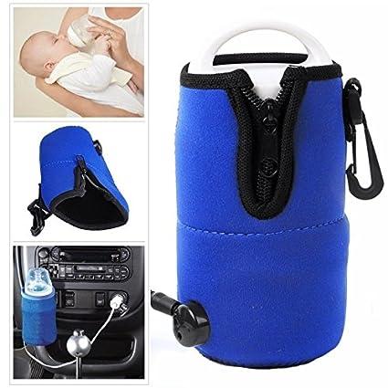 Inovey 12V Eléctrico Viaje Coche Leche Botella Agua Taza Calentador Caliente Bolsa para Niños Pequeños