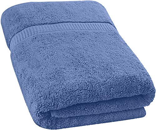 Utopia Towels – Soft Cotton Machine Washable Extra Large Bath Towel (35-Inch-by-70-Inch) – Luxury Bath Sheet – Electric Blue