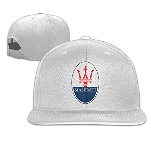 Ogbcom Maserati Logo Snapback Adjustable Flat Baseball Cap Hat - Buy Online  in Oman.  bb104c731087