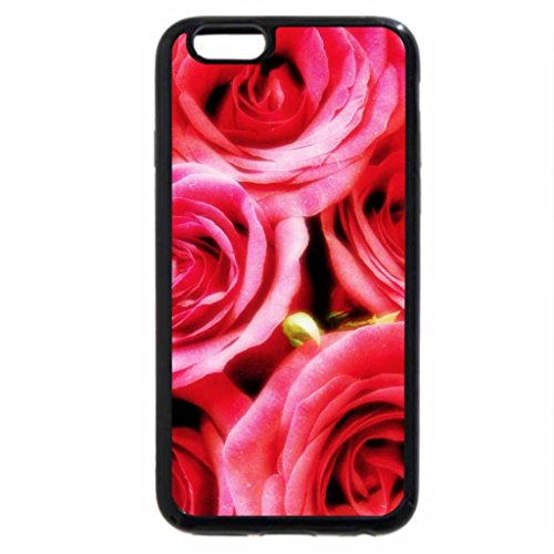 iPhone 6S / iPhone 6 Case (Black) Flowers and Leafs 21