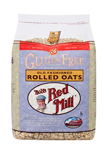 Bob's Red Mill, Whole Grain Rolled Oats, Gluten Free, 32 oz