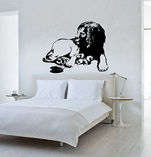animal-a-lion-young-lion-nature-greenpeace-kids-room-children-stylish-wall-art-sticker-decal-g9454