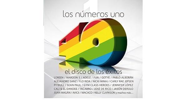 Los nº 1 de 40 Principales. El disco de los éxitos (2012) de ...