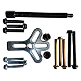 TruBuilt 1 Automotive 15pc Professional Universal Harmonic Balancer Pulley Damper and Gear Puller Tool