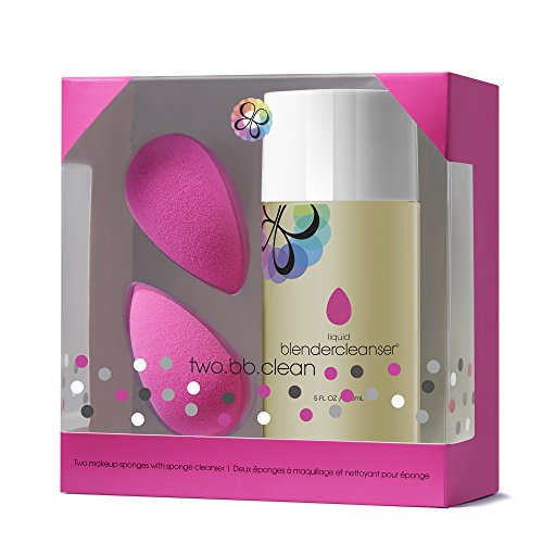 beautyblender two.bb.clean: Two Original Makeup Sponges + 5 oz Liquid Blendercleanser kit