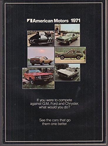 - 1971 American Motors brochure Hornet Ambassador Javelin Gremlin Matador AMX