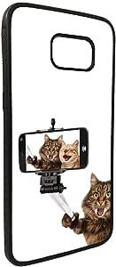 كفر جالكسي  اس 7 بتصميم صورة سيلفي لقطط