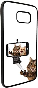 Silvie picture - cats Printed Case for Galaxy S7