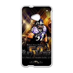 NFL Baltimore Ravens For HTC One M7 Phone Cases NDG613347