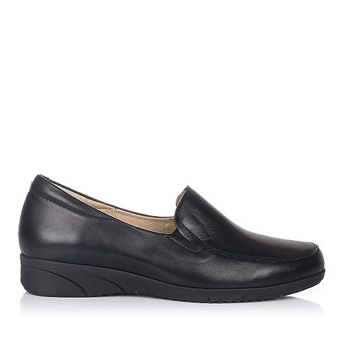 PITILLOS 2910 Zapato Mocasin Piel Mujer: Amazon.es: Zapatos y complementos