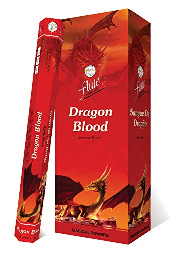 Incense Sticks Flute Dragon Blood Agarbatti 120 Sticks Hexa Packets