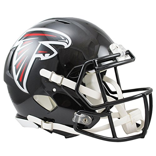 (NFL Atlanta Falcons Speed Authentic Football Helmet)