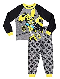 Transformers Boys Sleepwear | Cotton Kids 2-Piece Pajama Set - 4