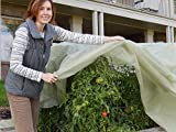Frost Protek Floating Garden Bed Cover -10 feet by 15 feet –Garden Fabric for Protection and Insulation