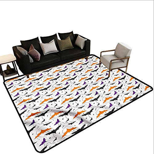 Halloween,Floor Mat Kitchen Long Carpet 48