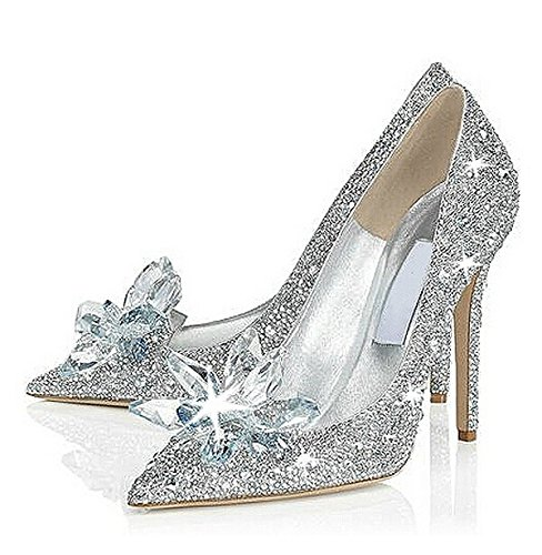 Cinderella Movie 2015 the Glass Slipper Princess Crystal Shoes ...