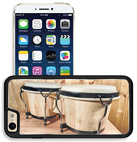 Apple Bongos - Liili Apple iPhone 6 iPhone 6S Aluminum Backplate Bumper Snap iphone6/6s Case The bongos are a percussion of African origin and are mainly Latin music Photo 17572647