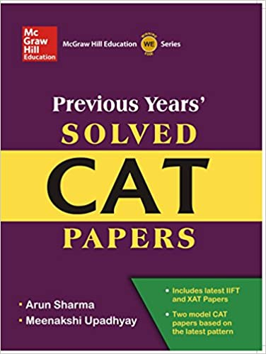 Buy Previous Years Solved CAT Papers Old Edition Book
