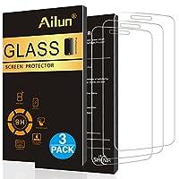 Ailun Screen Protetor para LG Stylo 3 [3Pack], 2.5D Edge, ultra claro, antirrayas, apto para maletas, vidrio templado para LG Stylo 3 /LG Stylus 3 SOLAMENTE, NO para LG Stylus 2-Siania Retail Package