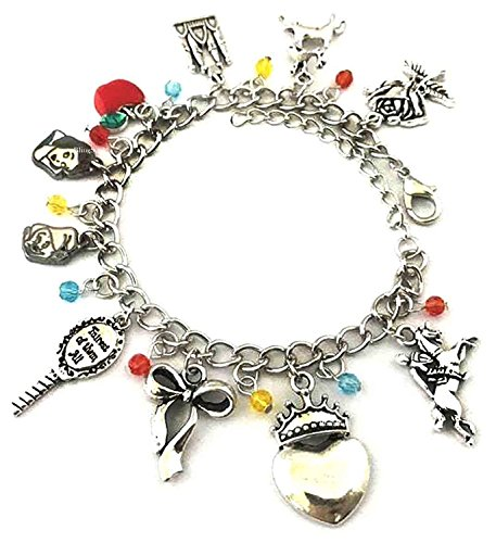 BlingSoul Snow White Charm Bracelet Jewelry Merchandise Gifts Collection Girls Women ()