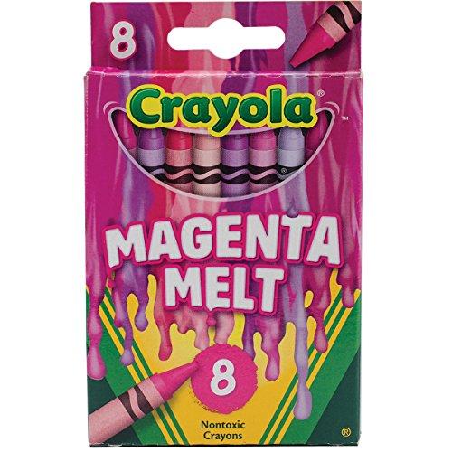 Crayola Meltdown Crayons Pack Magenta