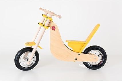Moto Chopper bicicleta sin pedales de madera made in Italy Juegos ...