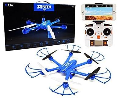 Ei-Hi® S19R Remote Control RC UFO Hexcopter Drone with FPV Camera