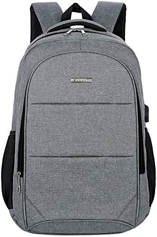 JCF-YJDI Lcya-nsbjb Backpack, Men s Casual Backpack Laptop Shoulder Bag Backpack Large Capacity USB Charging Travel Bag
