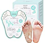 Sofusse Foot Peeling Double Essence Mask 10 Pieces of Exfoliation