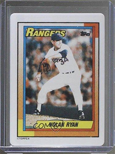 (Nolan Ryan (Baseball Card) 1993 R&N China Topps Porcelain Hamilton Collection Nolan Ryan Reprints - Nolan Ryan #1990)