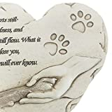 JSYS Heart Shaped Pet Memorial Stones,Sympathy