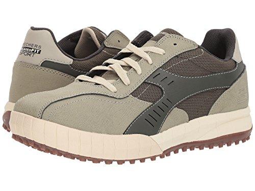 [SKECHERS(スケッチャーズ)] メンズスニーカー?ランニングシューズ?靴 Floater 2.0 Olive/Natural 6.5 (24.5cm) D - Medium