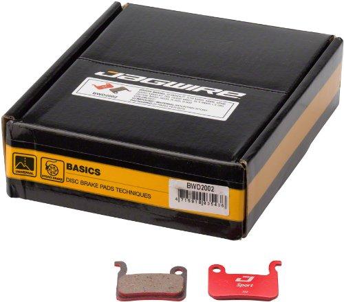 Jagwire Mountain Sport Disc Pads Shimano XTR M965 M966 M596 Saint M800SLX M665 LX 585 Deore M545 Box/25 Pair by Jagwire