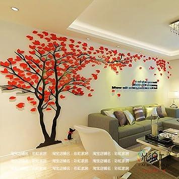 Fesselnd Chlwx 3D Stereo Wand Angebracht Acryl Wohnzimmer Wand Dekoration Sofa  Hintergrund Wandmalerei 340 X 180 Cm