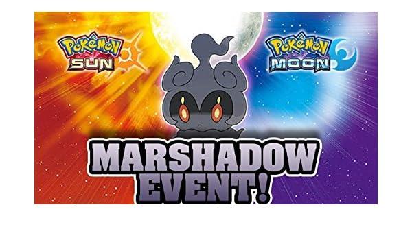 Amazon com: Mt  Tensei Marshadow Event Pokemon: Toys & Games