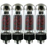 JJ Electronics T-E34L-JJ-MQ Vacuum Tube Pentode Matched Quad