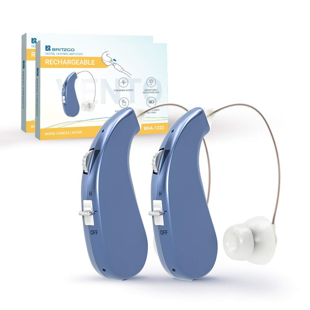 Hearing Amplifier (Rechargeable) BHA-203 (2) by Britzgo