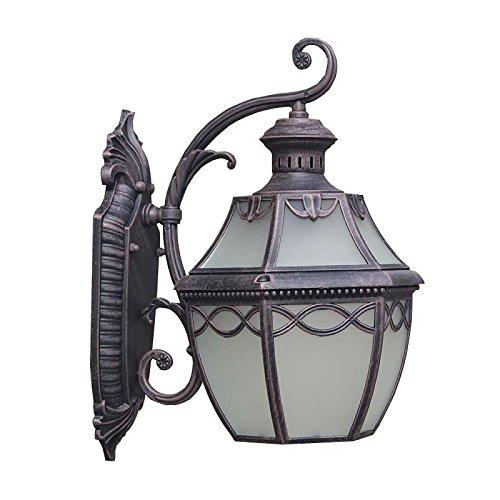 Ehime Illuminazioni per pareti Lampade da parete Illuminazione per esterni Lanterne Luci da parete La terrazza luci da parete patio all'aperto le porte del balcone, luci da parete indoor soggiorno studio background lampada da parete