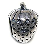 Pro Jewelry 925 Solid Sterling Silver Strawberry Charm Bead