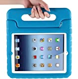 i-Blason ArmorBox Kido Series Light Weight Super Protection Convertable Stand Cover Case for Apple iPad 4 iPad 4G iPad 4th Generation iPad with Retina Display iPad 2, The New iPad 3 (Blue)