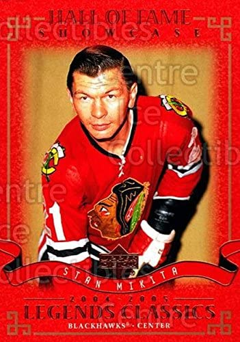 Stan Mikita Hockey Card 2004-05 UD Legends Classics #99 Stan Mikita