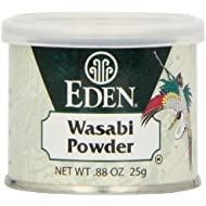 Eden Wasabi Powder, 0.88-Ounce tins (Pack of 6)
