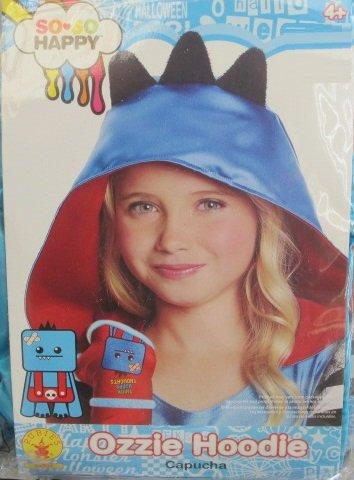 Rubies So-So Happy Ozzie Hood, Child Size