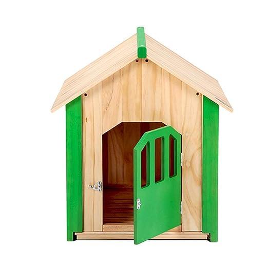 KYCD Casa para Perros, Gatos, caseta de Madera, Refugio para ...