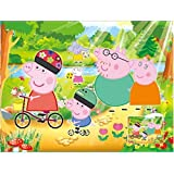 Peppa Pig Puzzle Toy Children Scene Jigsaw Scenario Games Peppa George Pig Educational Toy Kid Christmas New Year Gift