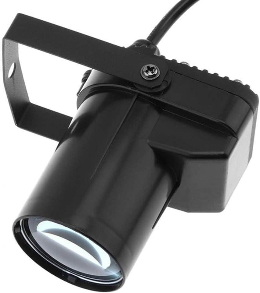 LED Beam Pinspot Light DJ Mirror Ball Lighting Pin Spot Indoor Projection Lamp for KTV Bar Club Party Disco LED 3W Orange