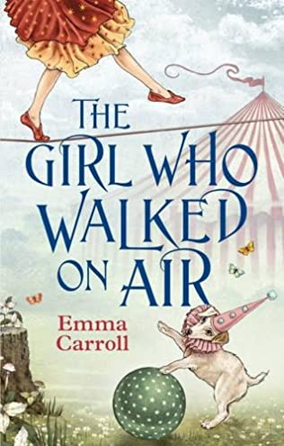 book cover of The Girl Who Walked On Air