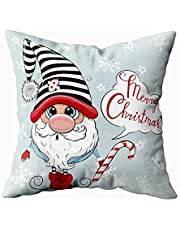 Musesh Pillow Cases,Farmhouse Pillow Covers Patio Pillow Covers Halloween Spooky Background 16X16Inch Square Pillow Cases for Couch Bed Sofa Bedroom Living Room